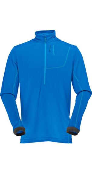 Norrøna M's Bitihorn Powerdry shirt Electric Blue